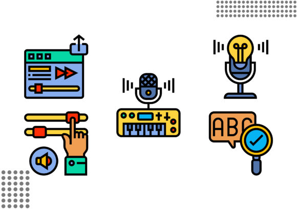 Download Free Voice Recognition Graphic By Cool Coolpkm3 Creative Fabrica for Cricut Explore, Silhouette and other cutting machines.