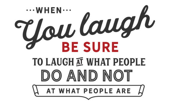 Download Free When You Laugh Graphic By Baraeiji Creative Fabrica for Cricut Explore, Silhouette and other cutting machines.