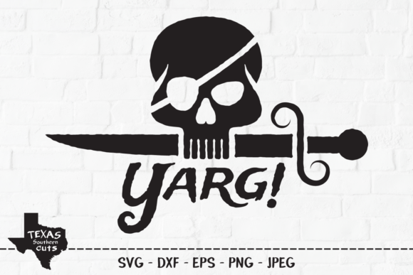 Yarg Pirate Summer Shirt Design Graphic By Texassoutherncuts