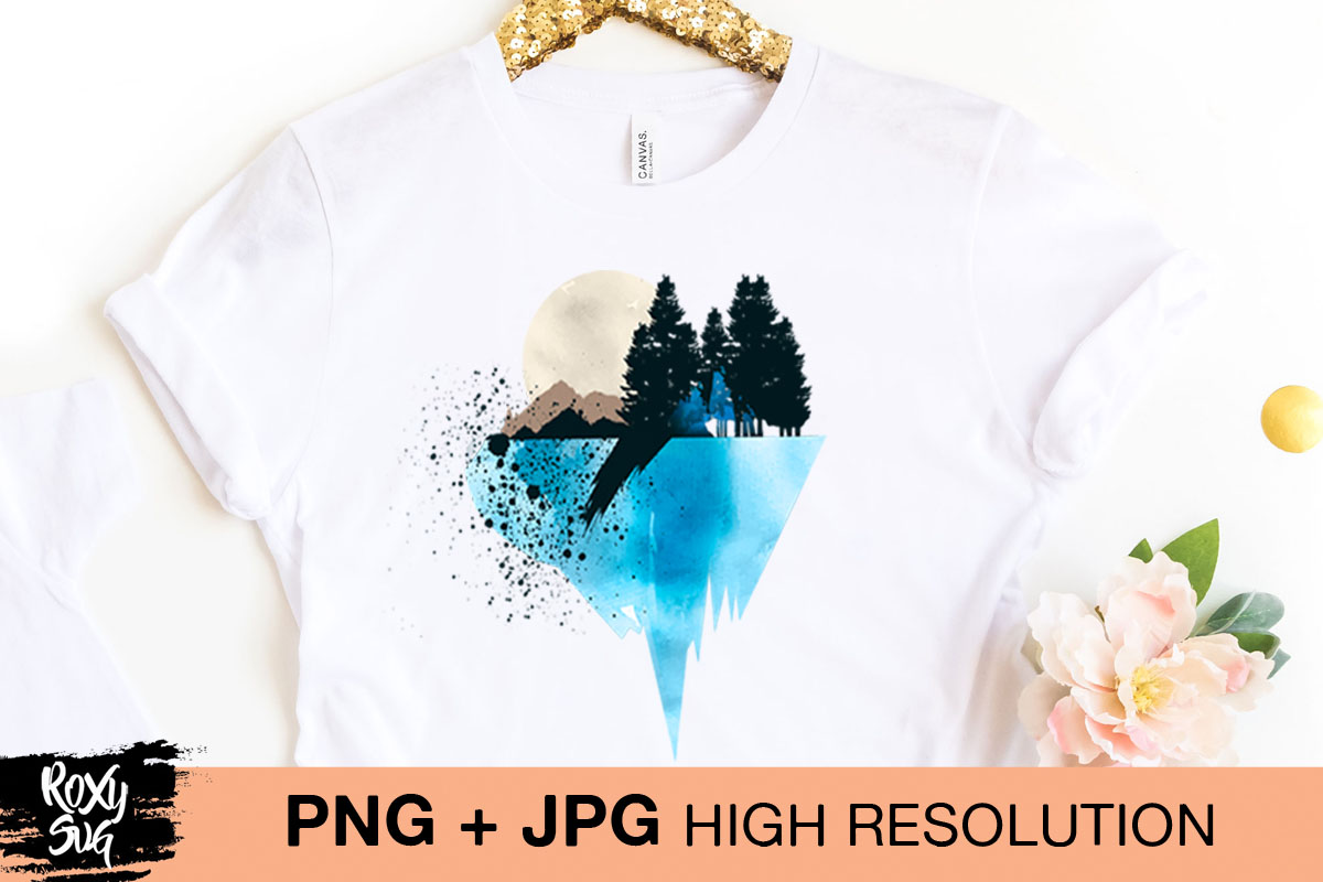 Download Free Adventure Png Mountain Sublimation Graphic By Roxysvg26 for Cricut Explore, Silhouette and other cutting machines.