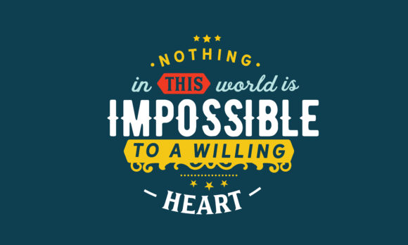 Print on Demand: Impossible to a Willing Heart Graphic Illustrations By baraeiji