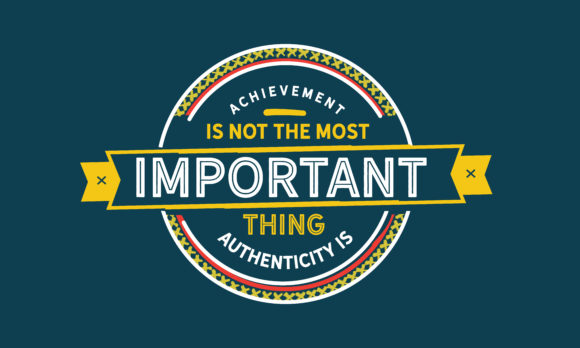 Print on Demand: Most Important Thing Authenticity Graphic Illustrations By baraeiji