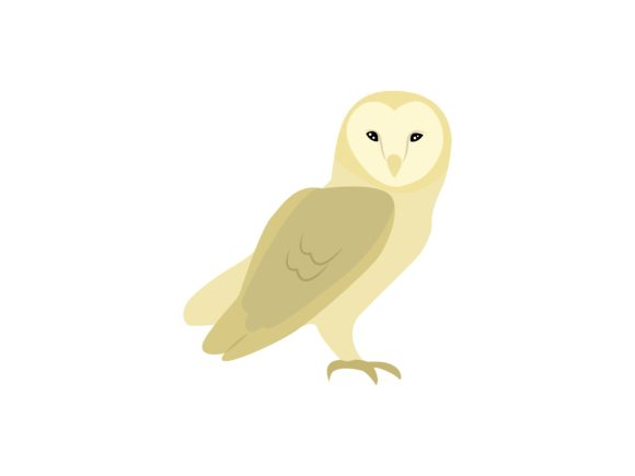 Download Free Owl Bird Animal Graphic By Archshape Creative Fabrica for Cricut Explore, Silhouette and other cutting machines.