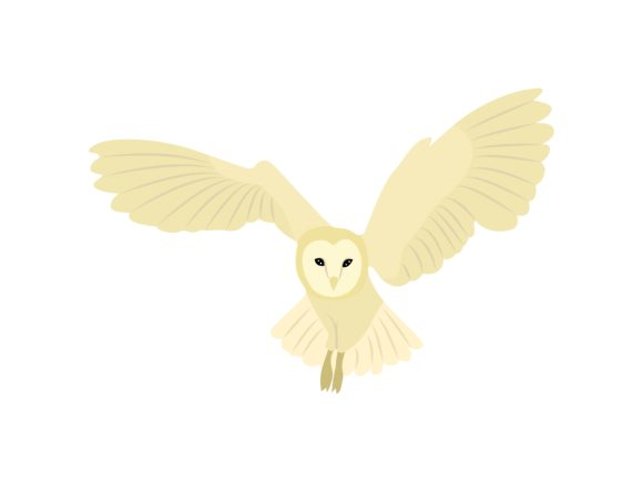 Download Free Owls Bird Spread Their Wings Animal Graphic By Archshape for Cricut Explore, Silhouette and other cutting machines.