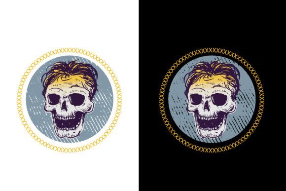 Skull 4 Graphic By Vtks Design Creative Fabrica