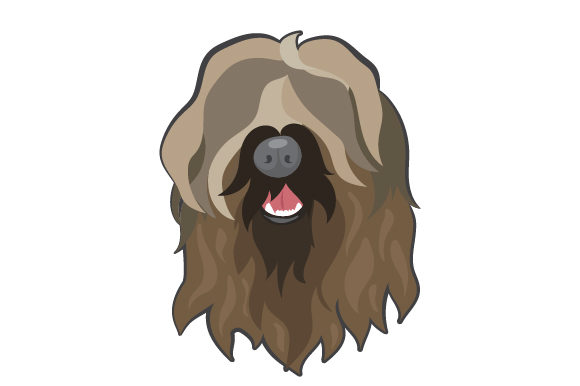 Download Free Briard Dog Svg Cut File By Creative Fabrica Crafts Creative for Cricut Explore, Silhouette and other cutting machines.