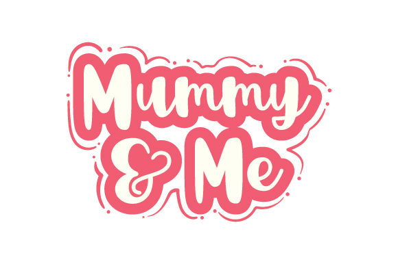 Mummy & Me Family Craft Cut File By Creative Fabrica Crafts