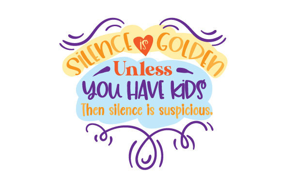Download Free Silence Is Golden Svg Cut File By Creative Fabrica Crafts for Cricut Explore, Silhouette and other cutting machines.