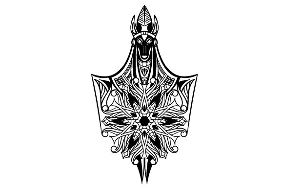 Download Free Anubis Mandala Svg Cut File By Creative Fabrica Crafts for Cricut Explore, Silhouette and other cutting machines.