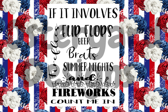 4th Of July Count Me In Graphic By Ostergarddesigns Creative Fabrica