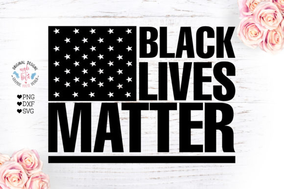 Black Lives Matter Cut File Graphic Crafts By GraphicHouseDesign