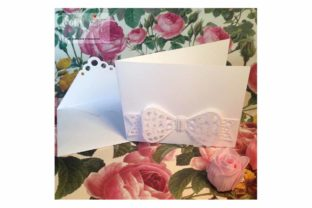 Bow Card Graphic 3D SVG By patrizia.moscone