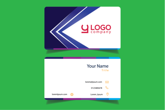 Modern Business Cards Graphic Print Templates By bayfont