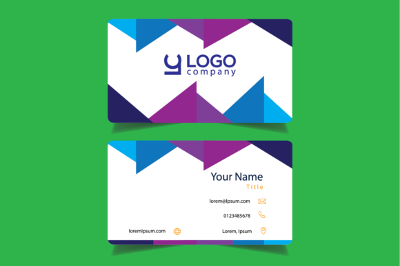 Download Free Modern Business Cards Graphic By Bayfont Creative Fabrica for Cricut Explore, Silhouette and other cutting machines.