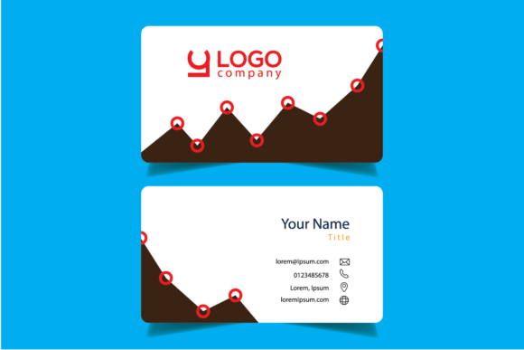 Download Free Business Cards Designs Graphic By Bayfont Creative Fabrica for Cricut Explore, Silhouette and other cutting machines.