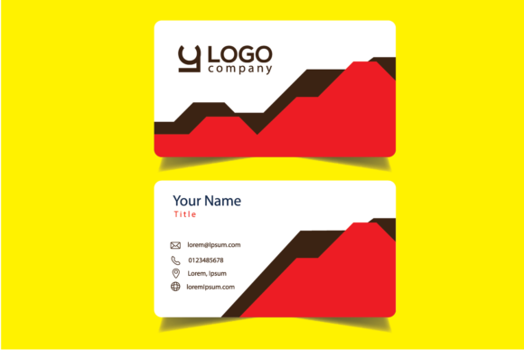 Business Cards Designs Graphic By Bayfont Creative Fabrica