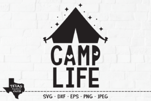 Print on Demand: Camp Life - Camping Shirt Design Graphic Crafts By texassoutherncuts