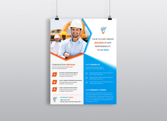 Download Free Corporate Business Flyer Template V 237 Graphic By Imagine for Cricut Explore, Silhouette and other cutting machines.
