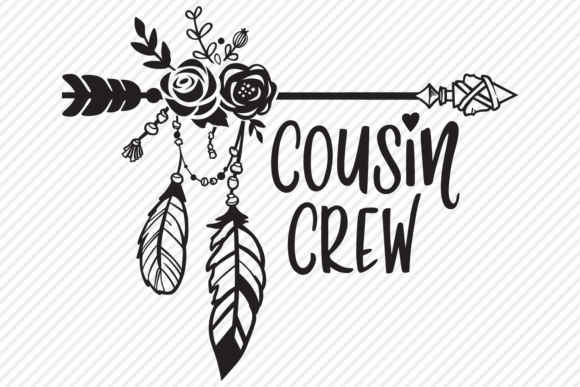 Download Free Cousin Crew Outdoor Shirt Design Graphic By Texassoutherncuts for Cricut Explore, Silhouette and other cutting machines.