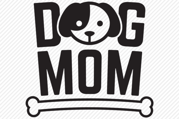 Download Free Dog Mom Mom Shirt Design Graphic By Texassoutherncuts for Cricut Explore, Silhouette and other cutting machines.