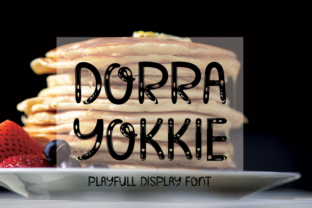 Download Free Dorra Yokkie Font By Inermedia Studio Creative Fabrica for Cricut Explore, Silhouette and other cutting machines.