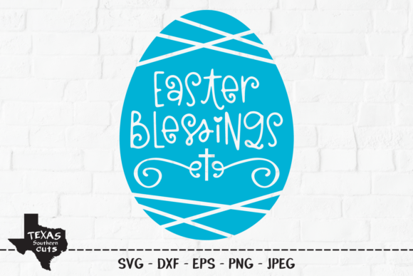 Download Free Easter Blessings Easter Shirt Design Graphic By for Cricut Explore, Silhouette and other cutting machines.