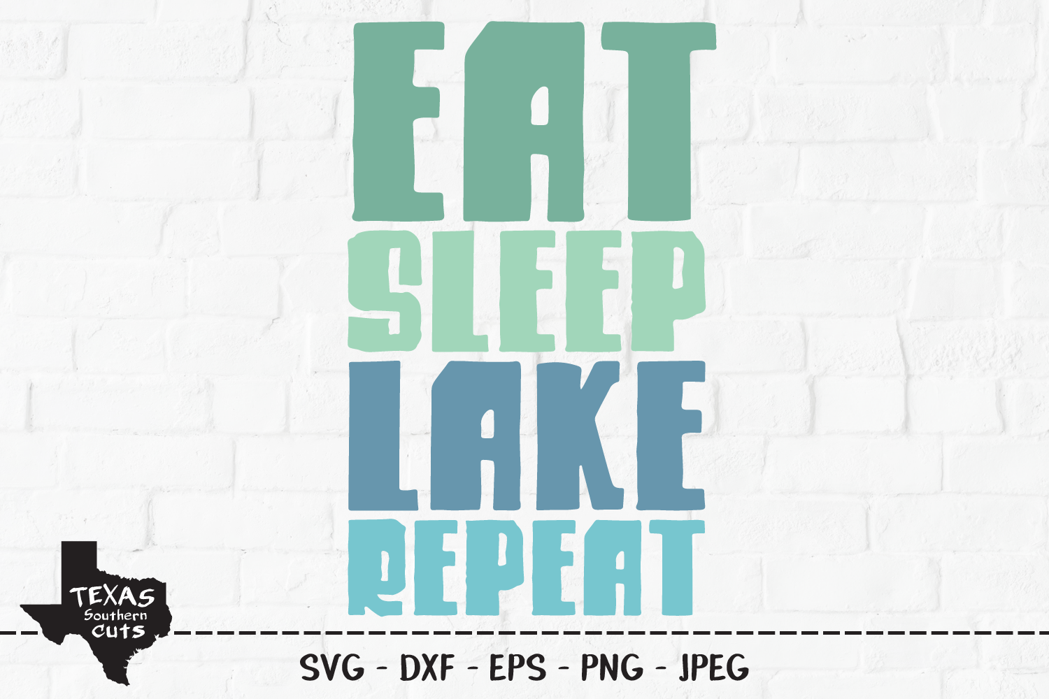 Download Free Eat Sleep Lake Repeat Shirt Design Graphic By for Cricut Explore, Silhouette and other cutting machines.