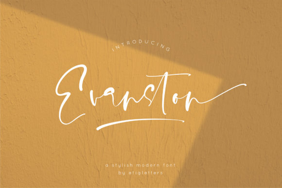 Download Free Ganella Font By Etigletters Creative Fabrica for Cricut Explore, Silhouette and other cutting machines.