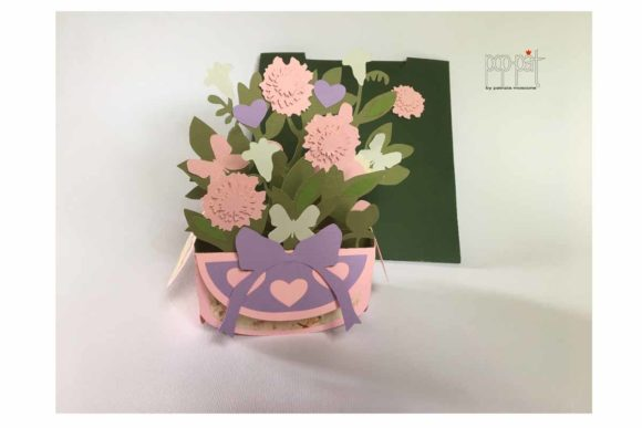Flower Box Graphic 3D Flowers By patrizia.moscone