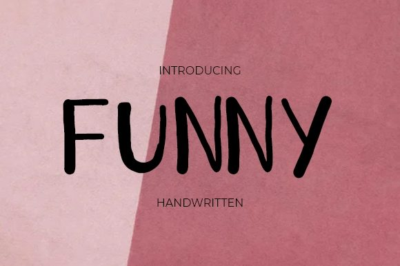 Print on Demand: Funny Script & Handwritten Font By Rizky Creative