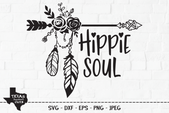 Hippie Soul Outdoor Shirt Design Graphic By Texassoutherncuts