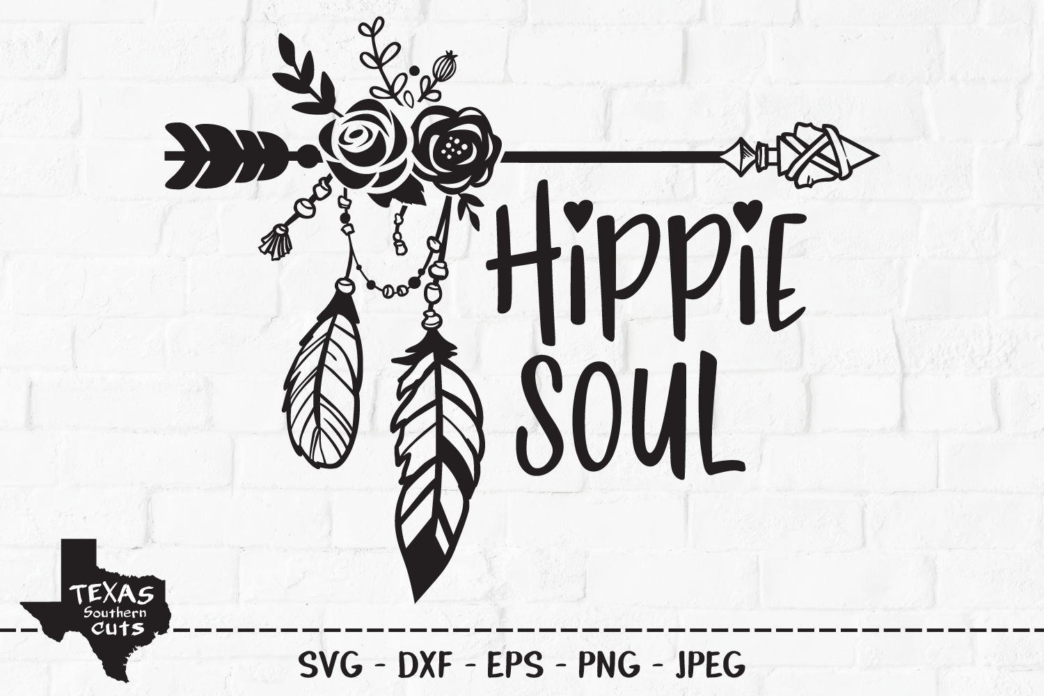 Download Free Hippie Soul Outdoor Shirt Design Graphic By Texassoutherncuts for Cricut Explore, Silhouette and other cutting machines.