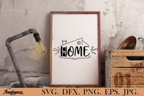 Print on Demand: Home - Home Graphic Print Templates By Analogous