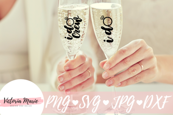 Download Free I Do Crew Engagement Ring Graphic By Victoria Turecamo for Cricut Explore, Silhouette and other cutting machines.