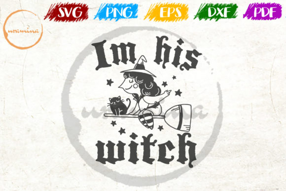 Download Free In His Witch Graphic By Uramina Creative Fabrica for Cricut Explore, Silhouette and other cutting machines.
