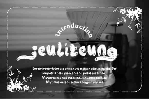 Print on Demand: Jeuliteung Display Font By Gblack Id