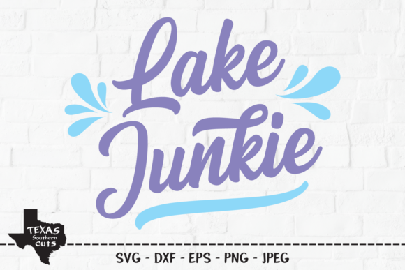 Download Free Lake Junkie Lake Shirt Design Graphic By Texassoutherncuts for Cricut Explore, Silhouette and other cutting machines.