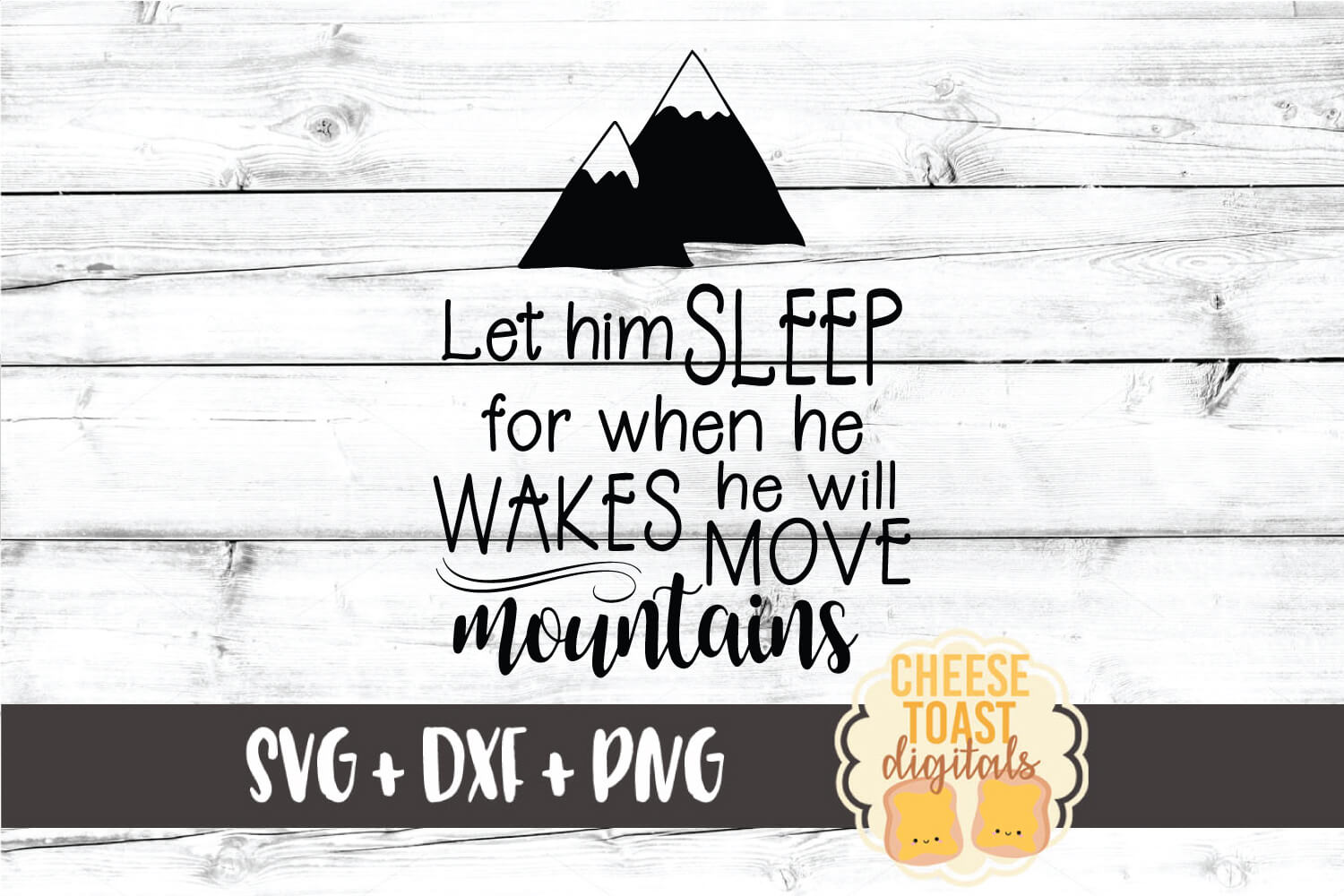 Download Free Let Him Sleep Graphic By Cheesetoastdigitals Creative Fabrica for Cricut Explore, Silhouette and other cutting machines.