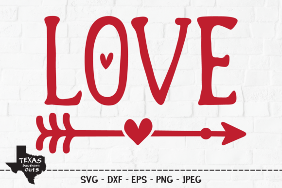 Download Free Love Valentine S Day Shirt Design Graphic By Texassoutherncuts for Cricut Explore, Silhouette and other cutting machines.