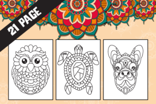 Print on Demand: Mandala Coloring Pages for Kids Graphic Coloring Pages & Books Kids By MK DESIGNS