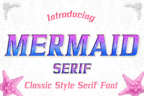 Print on Demand: Mermaid Serif Serif Font By numnim