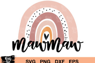 Download Free Mowma Mama Rainbow Graphic By Roxysvg26 Creative Fabrica for Cricut Explore, Silhouette and other cutting machines.