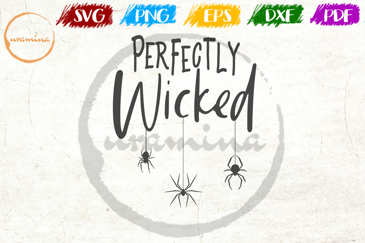 Download Free Perfectly Wicked Graphic By Uramina Creative Fabrica for Cricut Explore, Silhouette and other cutting machines.