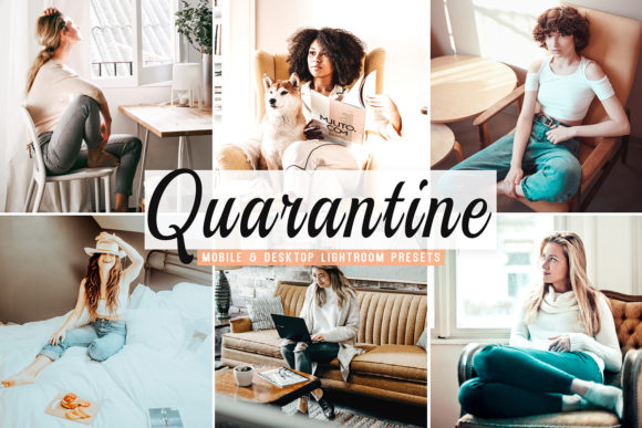 Download Free Quarantine Pro Lightroom Presets Graphic By Creative Tacos for Cricut Explore, Silhouette and other cutting machines.