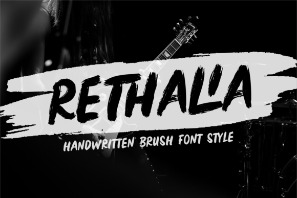 Print on Demand: Rethalia Display Font By brithostype