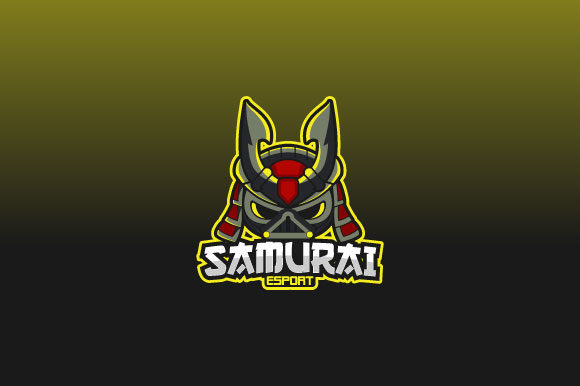 Download Free Samurai Esport Logo Design Inspiration Graphic By Burhan Bn006 for Cricut Explore, Silhouette and other cutting machines.