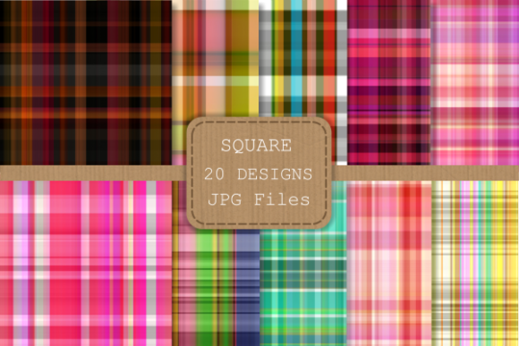 Download Free Seamless Plaid Tartan Fabric Paper Set 2 Graphic By Prawny for Cricut Explore, Silhouette and other cutting machines.