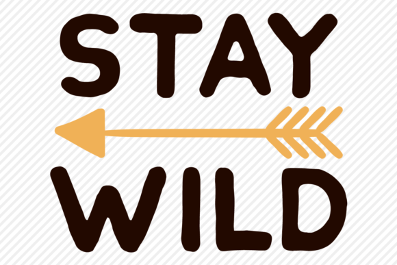 Download Free Stay Wild Outdoor Shirt Design Graphic By Texassoutherncuts for Cricut Explore, Silhouette and other cutting machines.