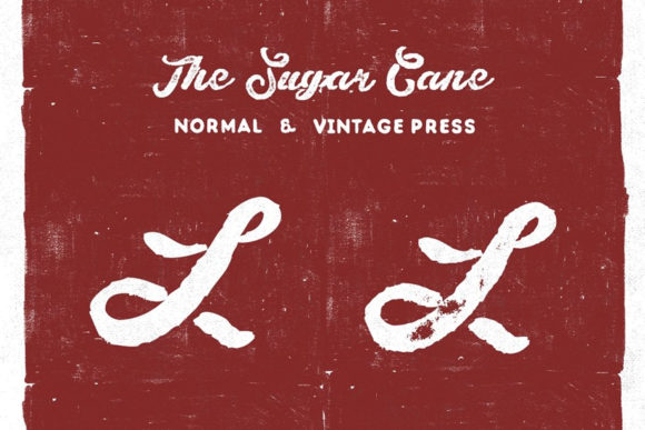 Download Free The Sugar Cane Font By Vintagevoyageco Creative Fabrica for Cricut Explore, Silhouette and other cutting machines.