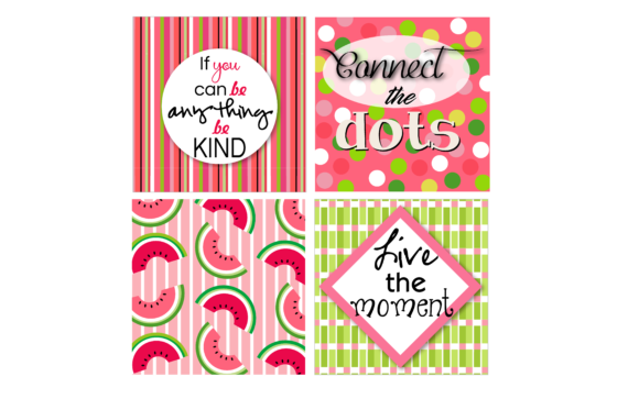 Download Free Watermelon Patterns Quotes Graphic By Fernanda Santistevan Z SVG Cut Files